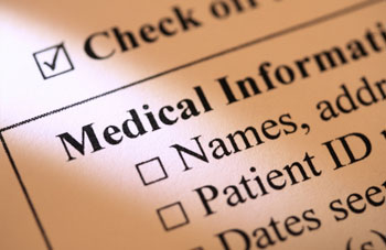 Checklist of Needed Medical Records
